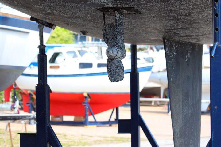 Unterwasserschiff