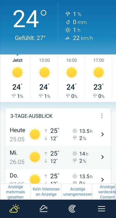 Weather Pro Screenshot