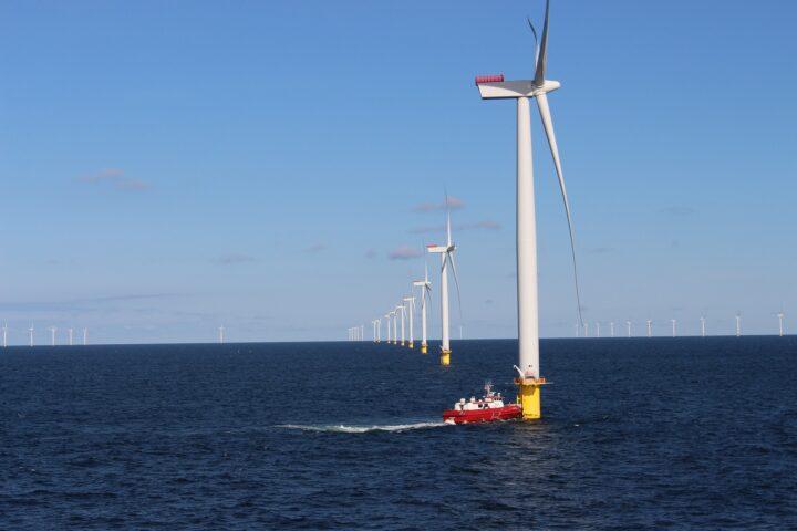 Windpark vor Anholt